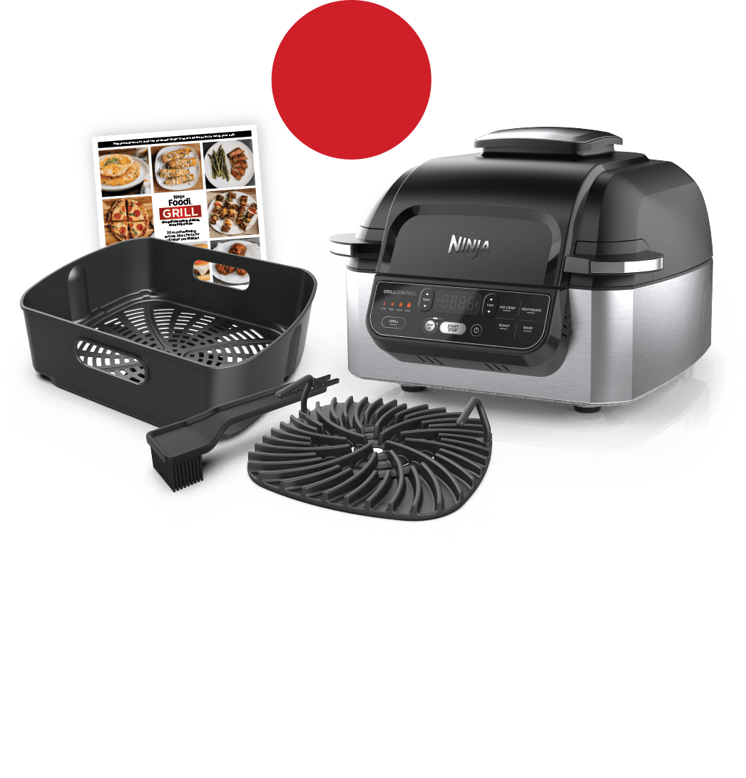 Ninja<sup>®</sup> Foodi™ 5-in-1 Indoor Grill with Free Gift